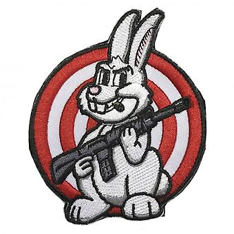 Honcho SFX AR-15 Rabbit Target Embroidered Moral Patch