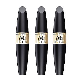 3-pack Max Factor False Lash efecto rimel negro 13, 1 ml