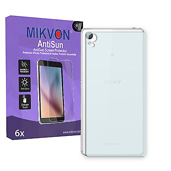 Sony Xperia Z3 reverse Screen Protector - Mikvon AntiSun (Retail Package with accessories)