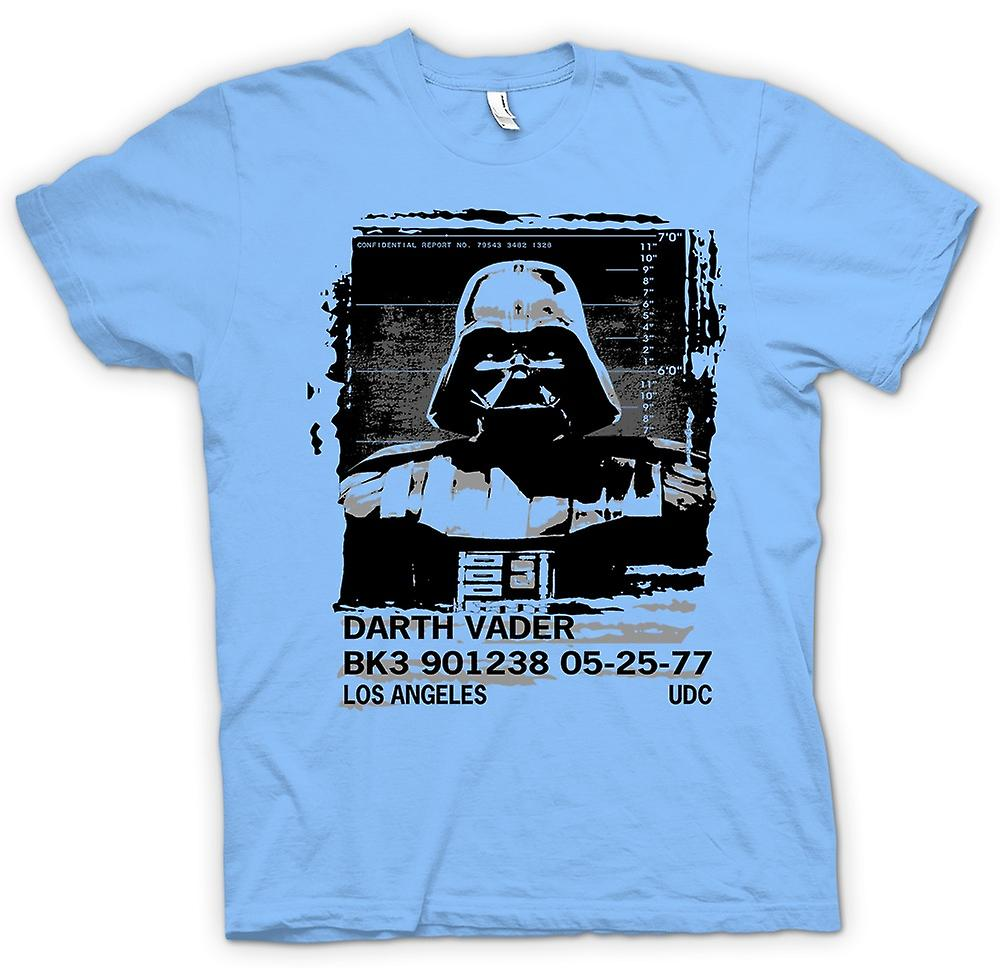 Mens t-shirt - Darth Vader Mug Shot - Star Wars