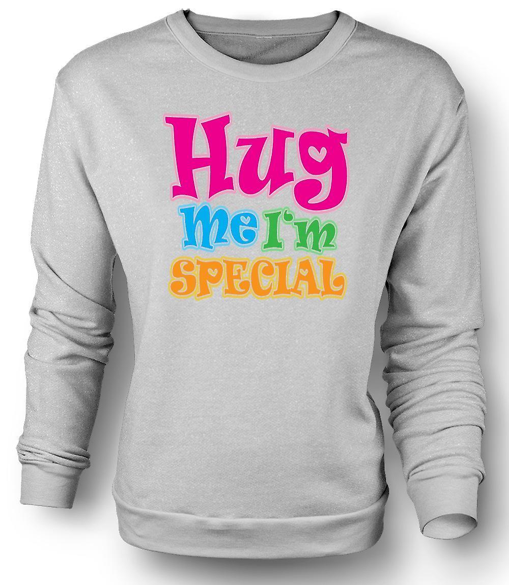 Mens Sweatshirt klemme meg jeg er spesielle - morsom
