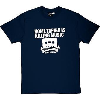 Home Taping Is Killing Music Herren T-Shirt