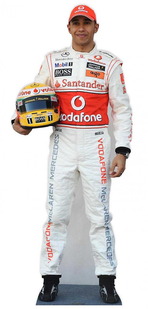 Lewis Hamilton Formel 1 (F1) Lifesize Pappausschnitt / Standee