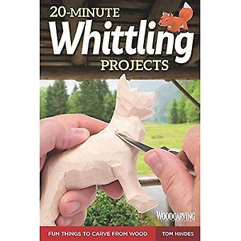 20 minuters slöjdknivar projekt: roliga saker att snida i trä (slöjd)