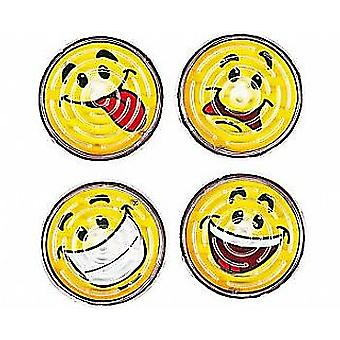 SALE - 12 Smiley Face Maze Puzzles Party Bag Fillers for Children