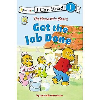 Berenstain Bears få jobbet gjort: nivå 1 (jag kan läsa! / Berenstain bär / levande ljus)