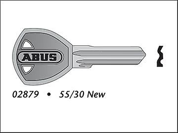 ABUS 55/30-35 New Key Blank (Kd Only) 35491