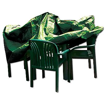 Simply Direct Table & Chairs Cover - Rectangular - Waterproof Weatherproof Furniture Protector