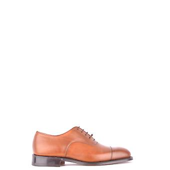 Church's Brown Leather Lace-up Shoes