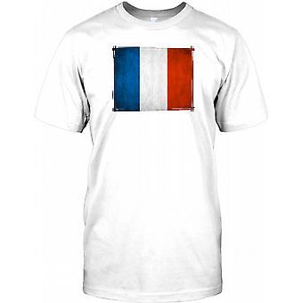 Fransk Tricolore flagg - Frankrike Kids T skjorte