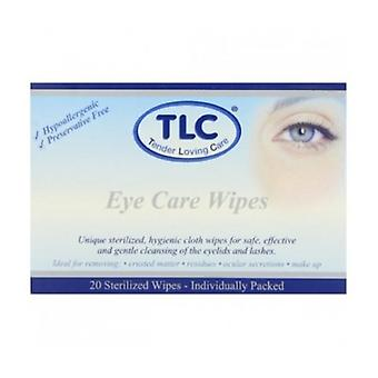 Eye Care toalhetes 20