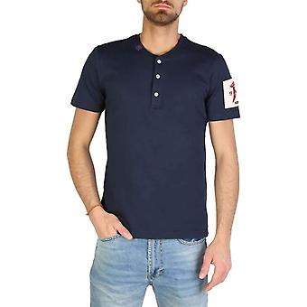 Rifle Men Blue T-shirts -- L709687856