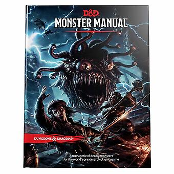 Dungeons & Dragons RPG - Monster Manual Book Rollspel