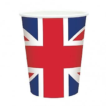 Union Jack porter Union Jack tasses X 20