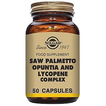 Solgar Complex of Sabal, Opuntia and Lycopene 50 capsules