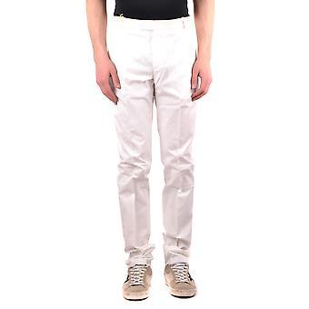 Etro White Cotton Pants
