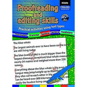 Proofreading and Editing Skills - Practical Activities Using Text Type