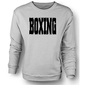 Mens Sweatshirt Boxing - Martial Art - Slogan