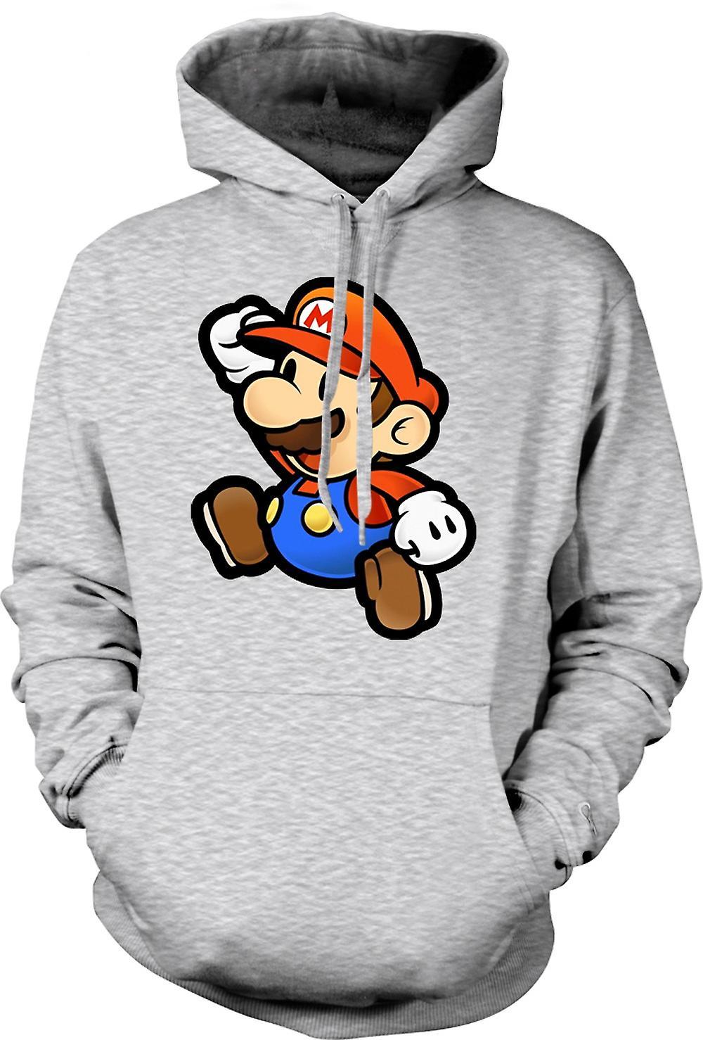 Para hombre con capucha - Super Mario - Gamer