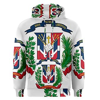 Dominican Republic Sublimated Flag Hoody