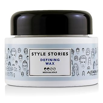 AlfaParf Style Stories Defining Wax (Medium Hold) 75ml/2.64oz