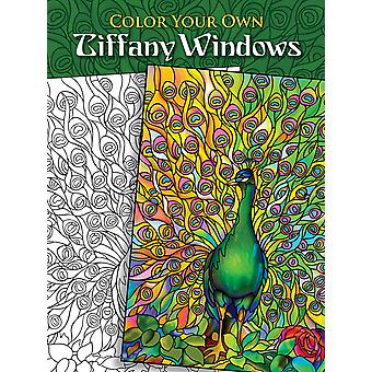 Dover Publications kleur uw eigen Tiffany Windows Dov 46533