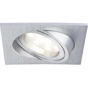 LED flush mount light 3-piece set 21 W Warm white Paulmann Coin 92839 Aluminium (brushed)