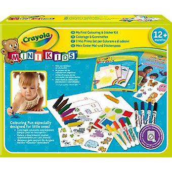 Crayola My First Colouring & Sticker Kit