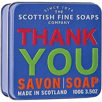 Scottish Fine Soaps Tack Soap Tin