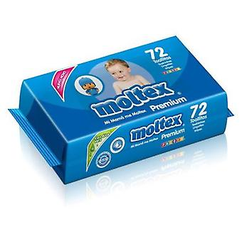 Moltex Premium Wipes 72 units (Kindesalter , Windel und Wechsler , Wipes)