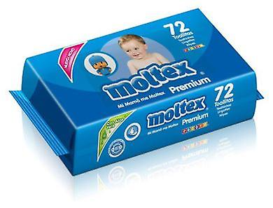 Moltex Premium Wipes 72 units (Childhood , Diaper and changers , Baby wipes)