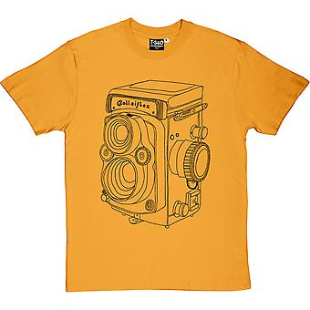Vintage Rolleiflex Camera Men's T-Shirt