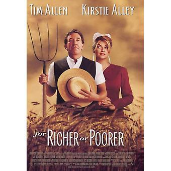 För rikare eller fattigare film affisch Skriv (27 x 40)
