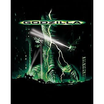 Impressão de cartaz do filme do Godzilla (27 x 40)