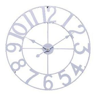 Balance Wall Clock 60 Cm Analogue White (Heim , Dekoration , Uhren)