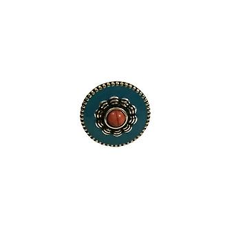 Leuke ronde boho statement ring