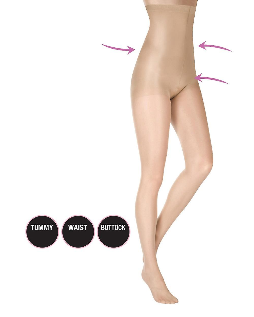 High Corsett shaping tights of high Federal transparent tights