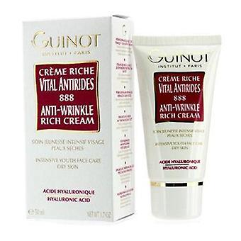 Guinot Anti-Rides Crème Riche (pour les peaux sèches) - 50ml / 1.7oz