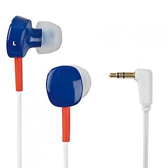 THOMSON EAR3056 Headphones In-Ear White/Blue/Red