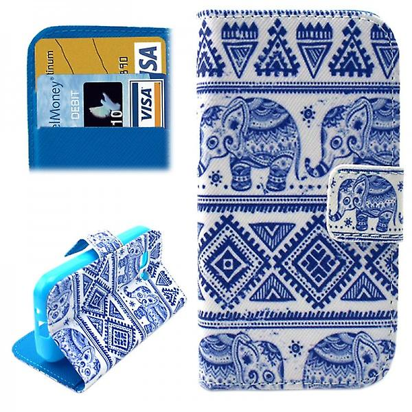 Cover wallet pattern 49 for Samsung Galaxy young 2 G130