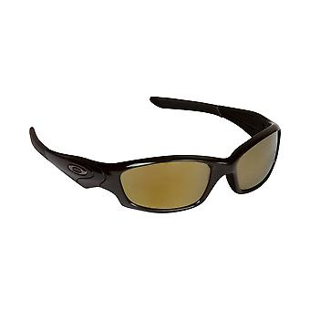 SEEK Polarized Replacement Lenses for Oakley STRAIGHT JACKET Grey Gold Mirror