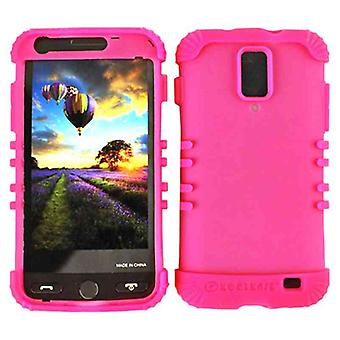 Rocker Series Skin Protector Case for Samsung I727 / Skyrocket / Galaxy S2 (Fluo
