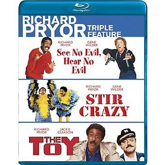 See No Evil Hear No Evil/Stir Crazy/the Toy [BLU-RAY] USA import