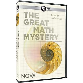 Nova: The Great Math Mystery [DVD] USA import