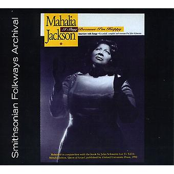 Mahalia Jackson - I Sing Because I'm Happy [CD] USA import