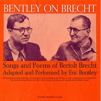Eric Bentley - Bentley on Brecht: Songs & Poems of Bertolt Brecht [CD] USA import