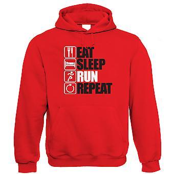 Eat Sleep Riff Repeat Guitar Hoodie
