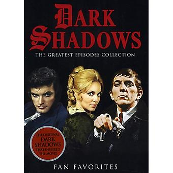 Dark Shadows - mörka skuggor: fansens favoriter [DVD] USA import