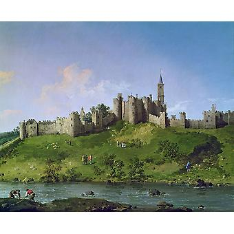 Canaletto - Alnwick Poster Print Giclee