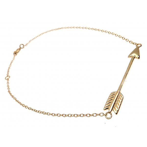 W.A.T 925 Sterling Silver And Gold Plated Arrow Bracelet